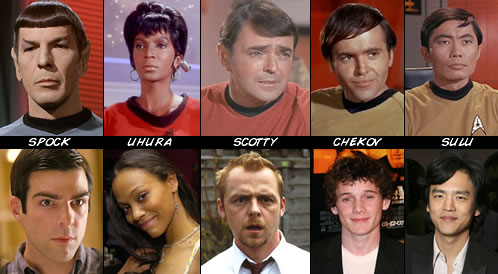 Reparto de Star Trek XI